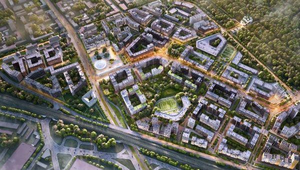 3-я Фотография ЖК «Ligovsky city-Второй квартал (Лиговский сити-Второй квартал)»
