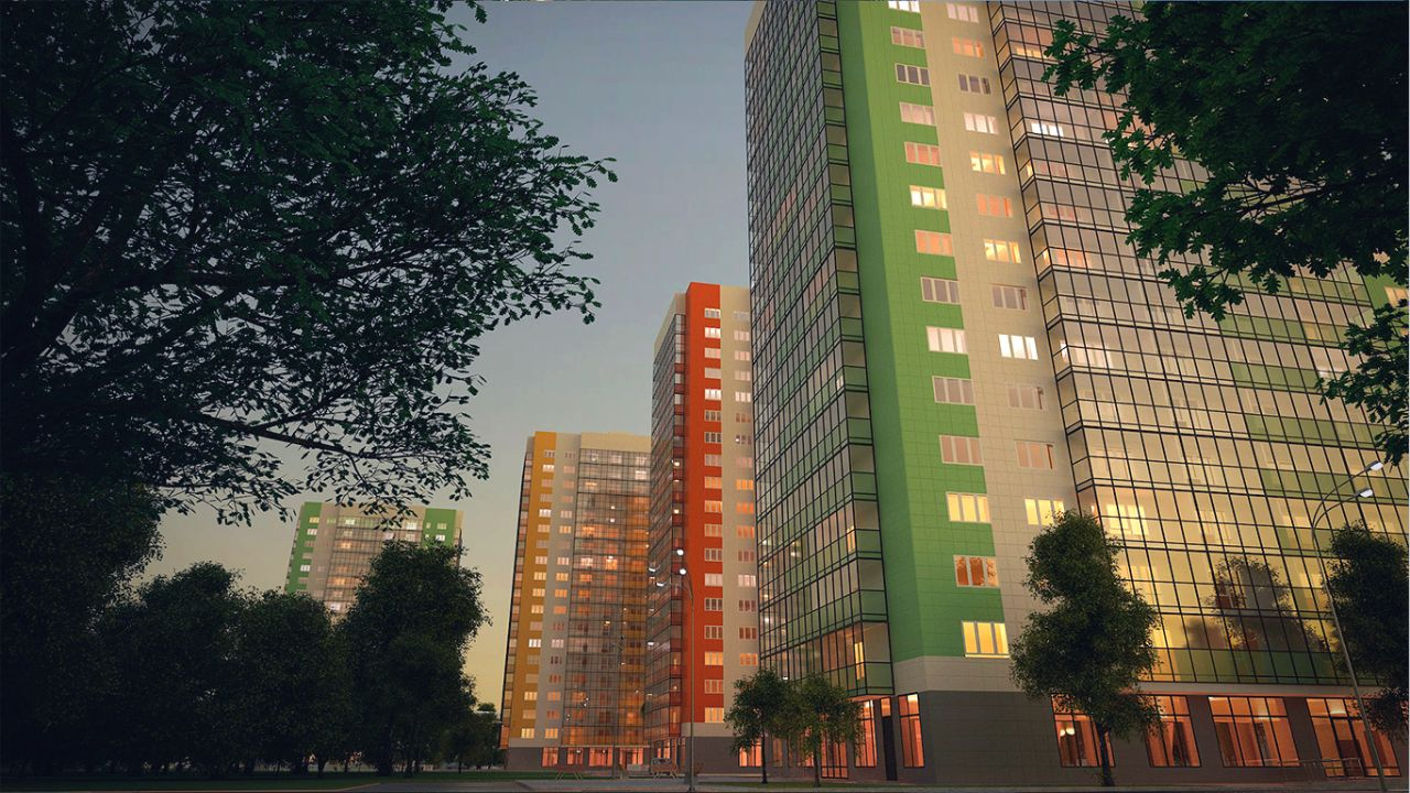 продажа квартир Green City (Грин Сити)
