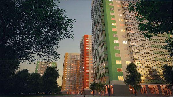 1-я Фотография ЖК «Green City (Грин Сити)»