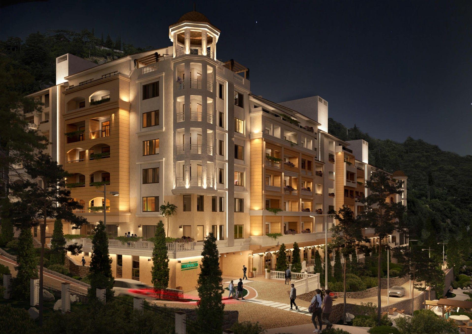 жилой комплекс Монако