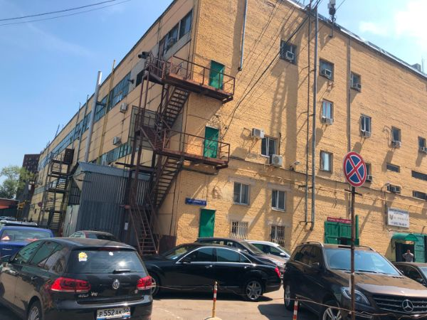 Административное здание на ул. Складочная, 1с7