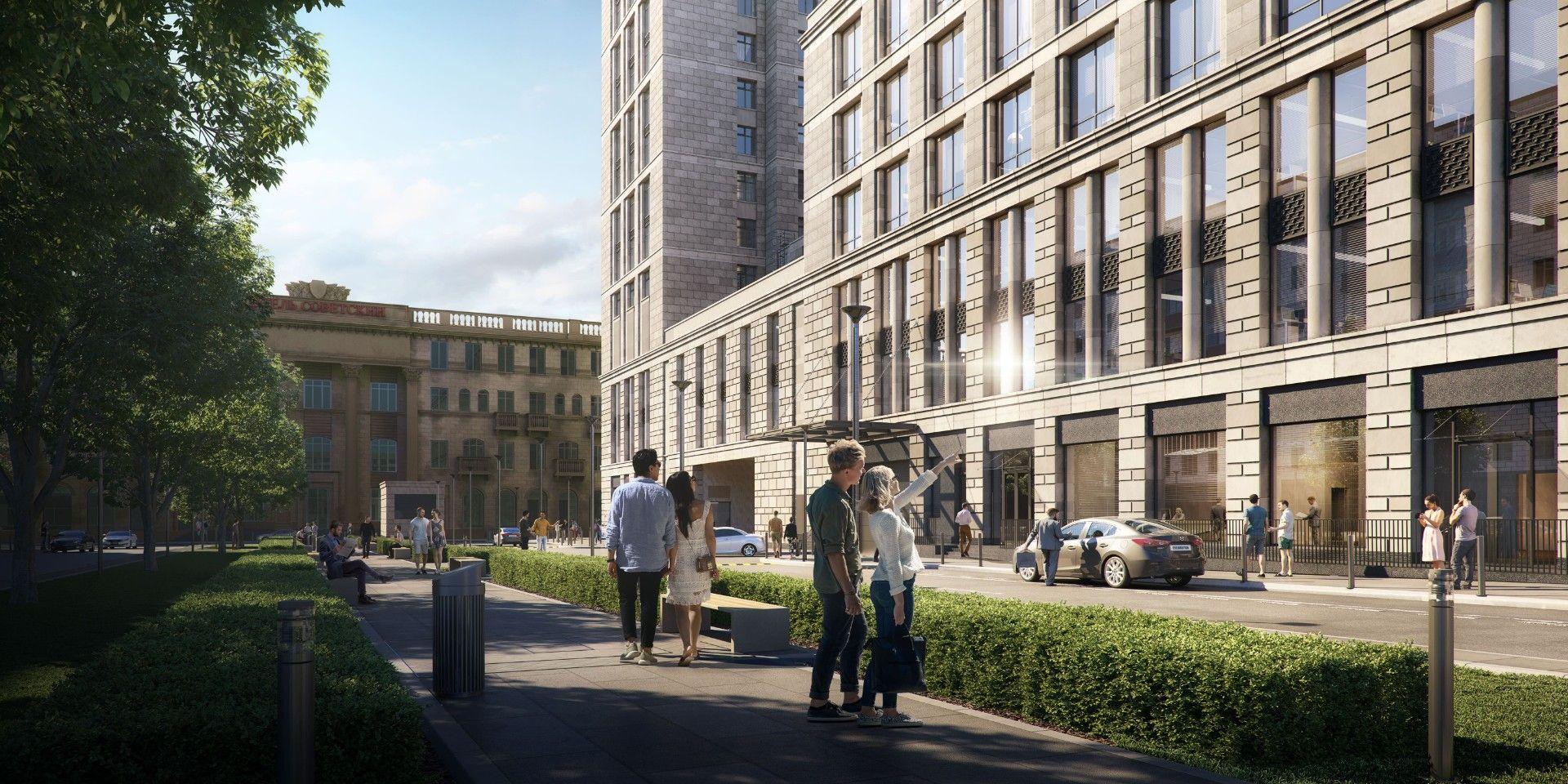 купить квартиру в ЖК Комплекс апартаментов Alcon Tower (Алкон Тауэр)