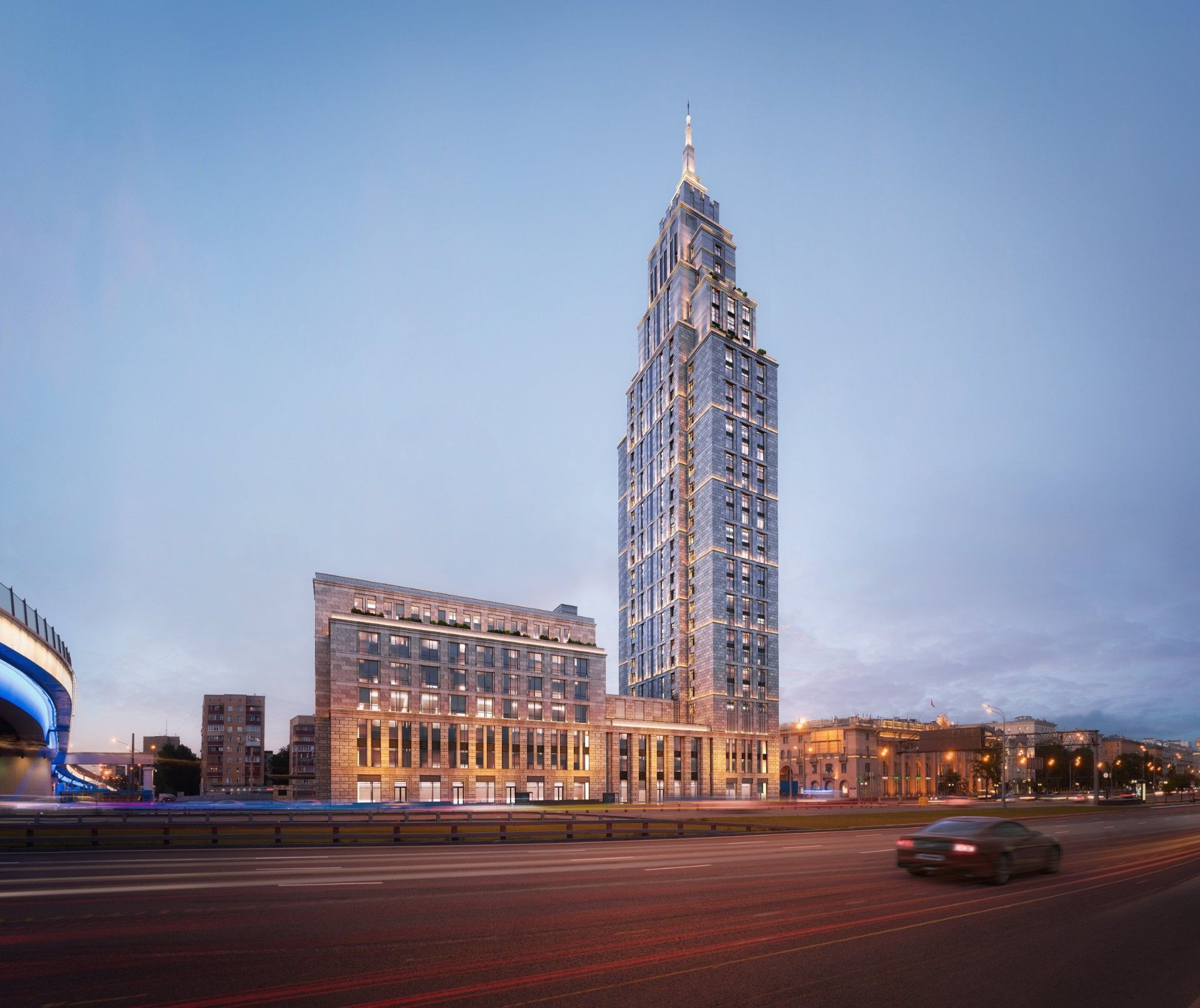 ЖК Комплекс апартаментов Alcon Tower (Алкон Тауэр)