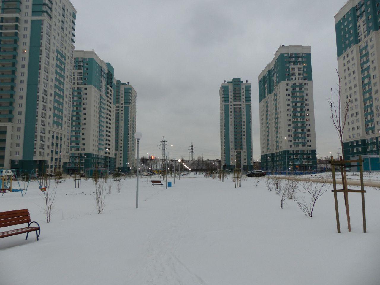 жилой комплекс Аквамарин