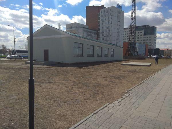 Отдельно стоящее здание на ул. Нижняя Набережная, 16А