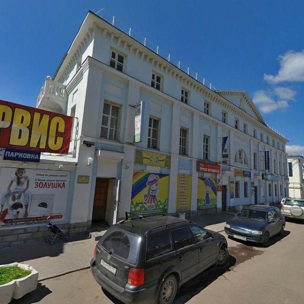 Торгово-офисный комплекс на ул. Кропоткина, 4