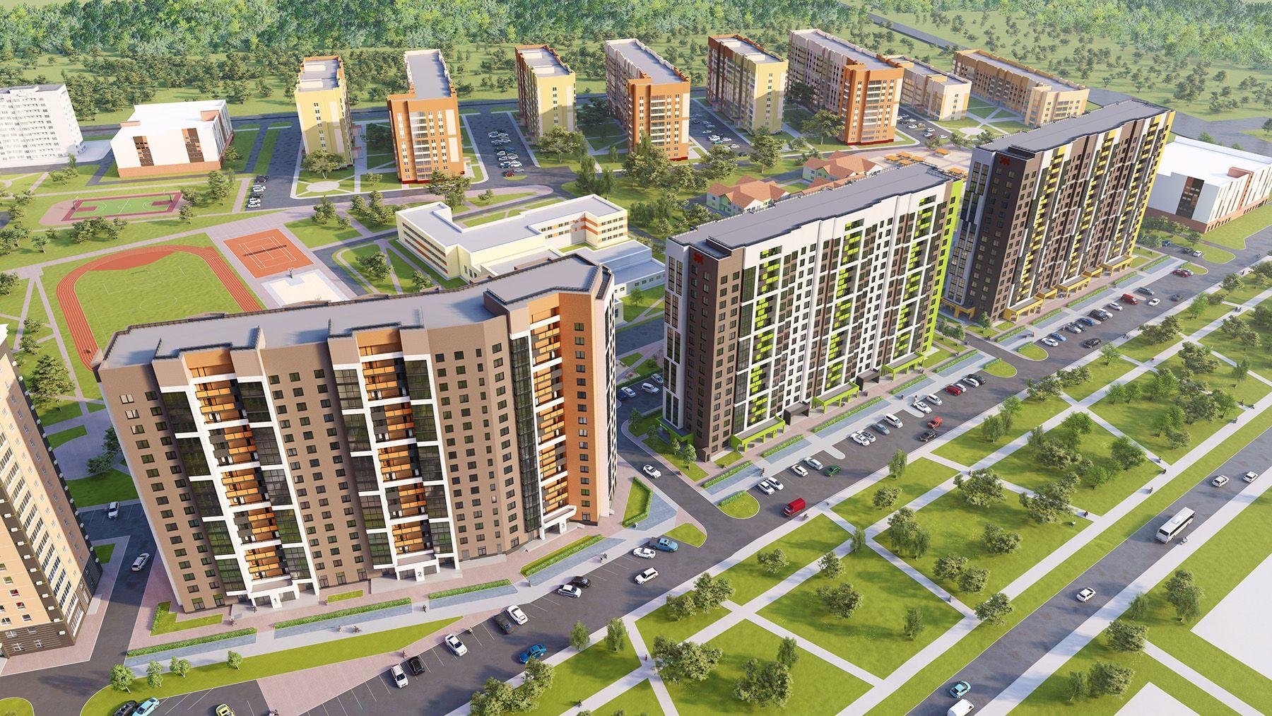 жилой комплекс Пломбир