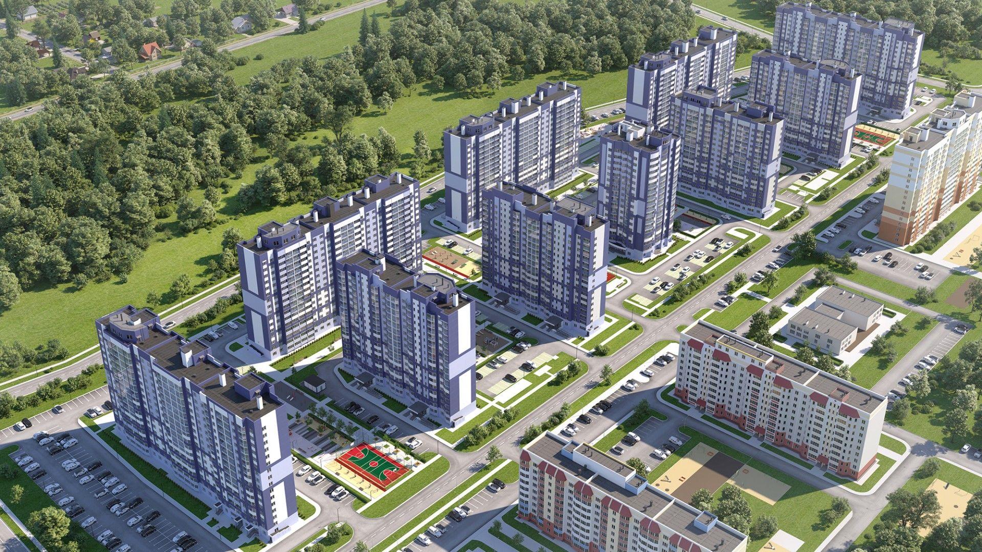 жилой комплекс Мкрн Зареченский