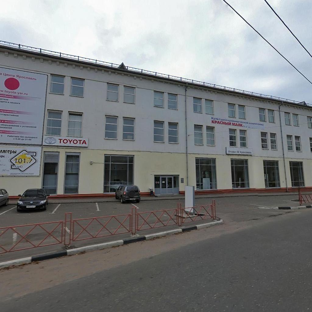 Коммерческая недвижимость ярославская область аренда Аренда офисных помещений Бирюсинка улица