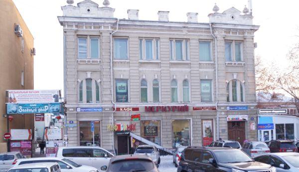 Торгово-офисный комплекс в переулке Артура Волошина, 4