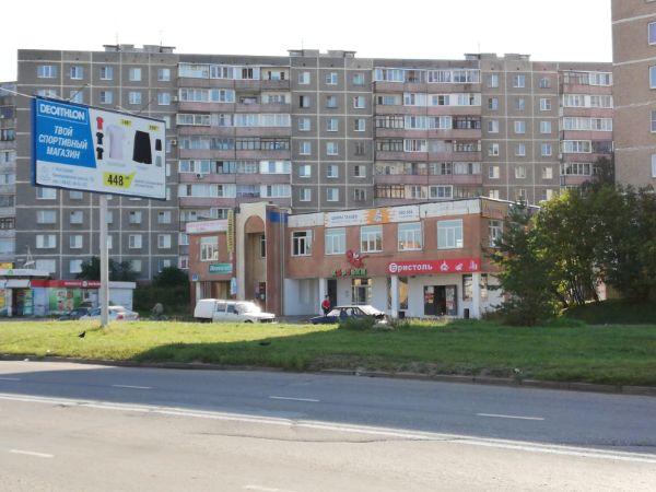 Торговый комплекс на ул. Индустриальная, 8А