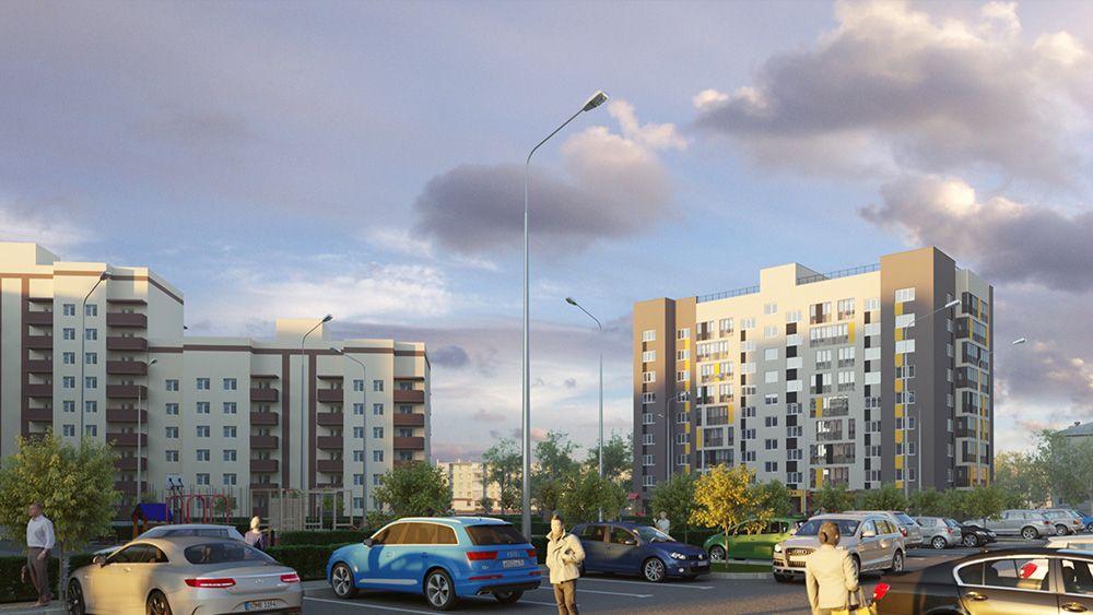 жилой комплекс ул. Курская