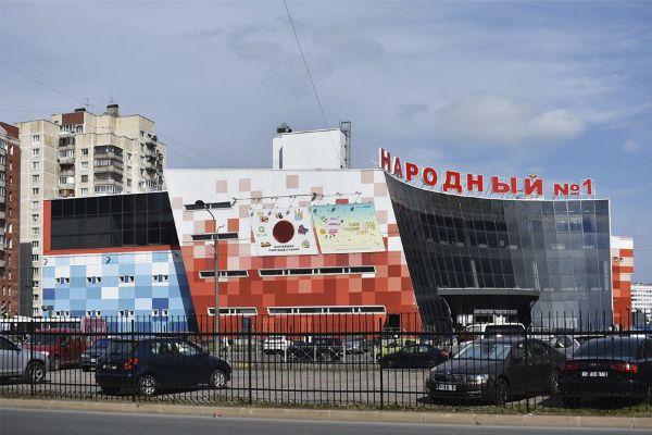 Торговый центр на ул. Хошимина, 14