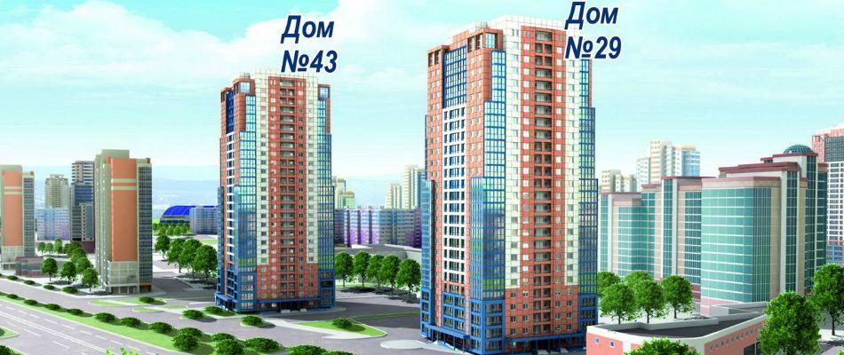 жилой комплекс по ул. Кубяка