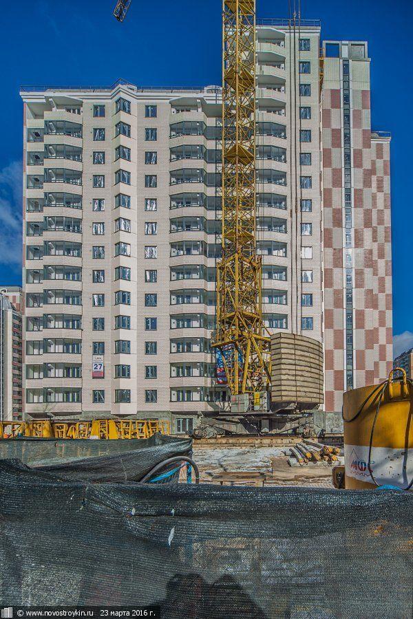 жилой комплекс Солнцево, ул. Главмосстроя