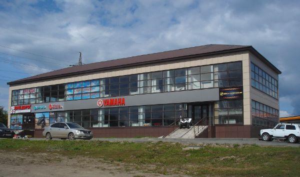 Торгово-деловой комплекс на ул. Власихинская, 148А