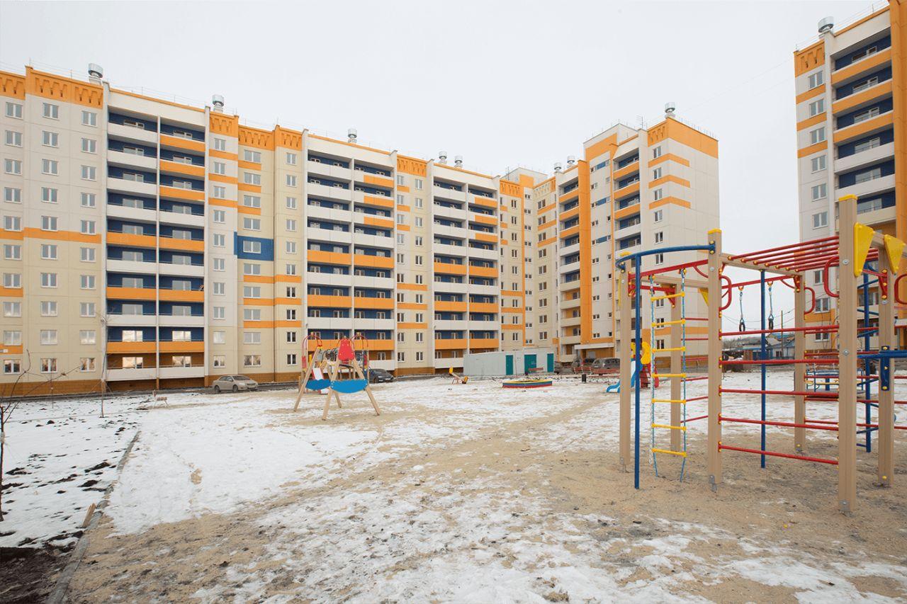 жилой комплекс по ул. Короленко, 12, 12а