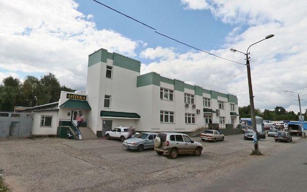 Торговый центр на ул. Николая Островского, 87
