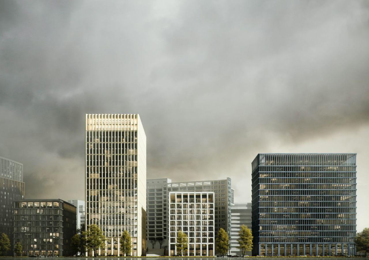 БЦ STONE Towers (Стоун Тауэрс) – аренда и продажа помещений, офисов в Бизнес Центре STONE Towers (Стоун Тауэрс), Москва, Бумажный проезд, 19 – Коммерческая недвижимость ЦИАН