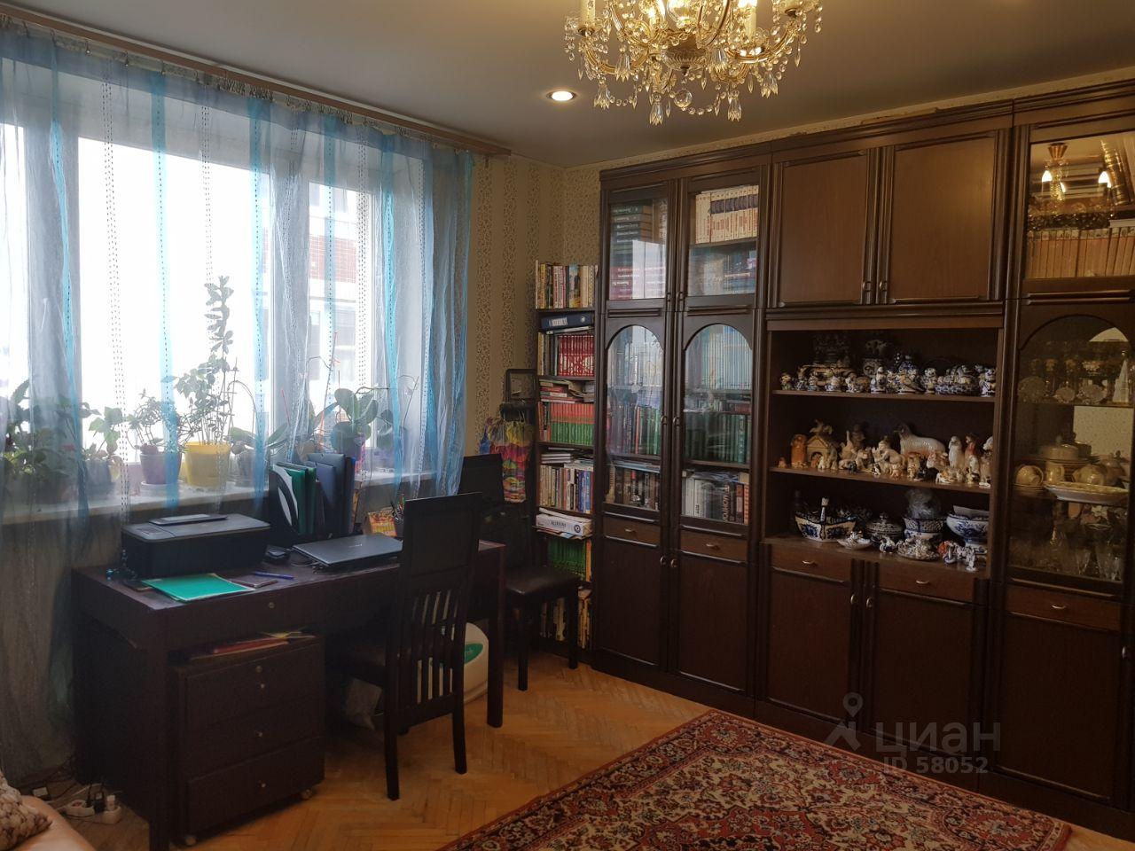 Купить двухкомнатную квартиру 50м² Зеленый просп., 4К2, Москва, ВАО, р-н Перово м. Перово - база ЦИАН, объявление 194638551