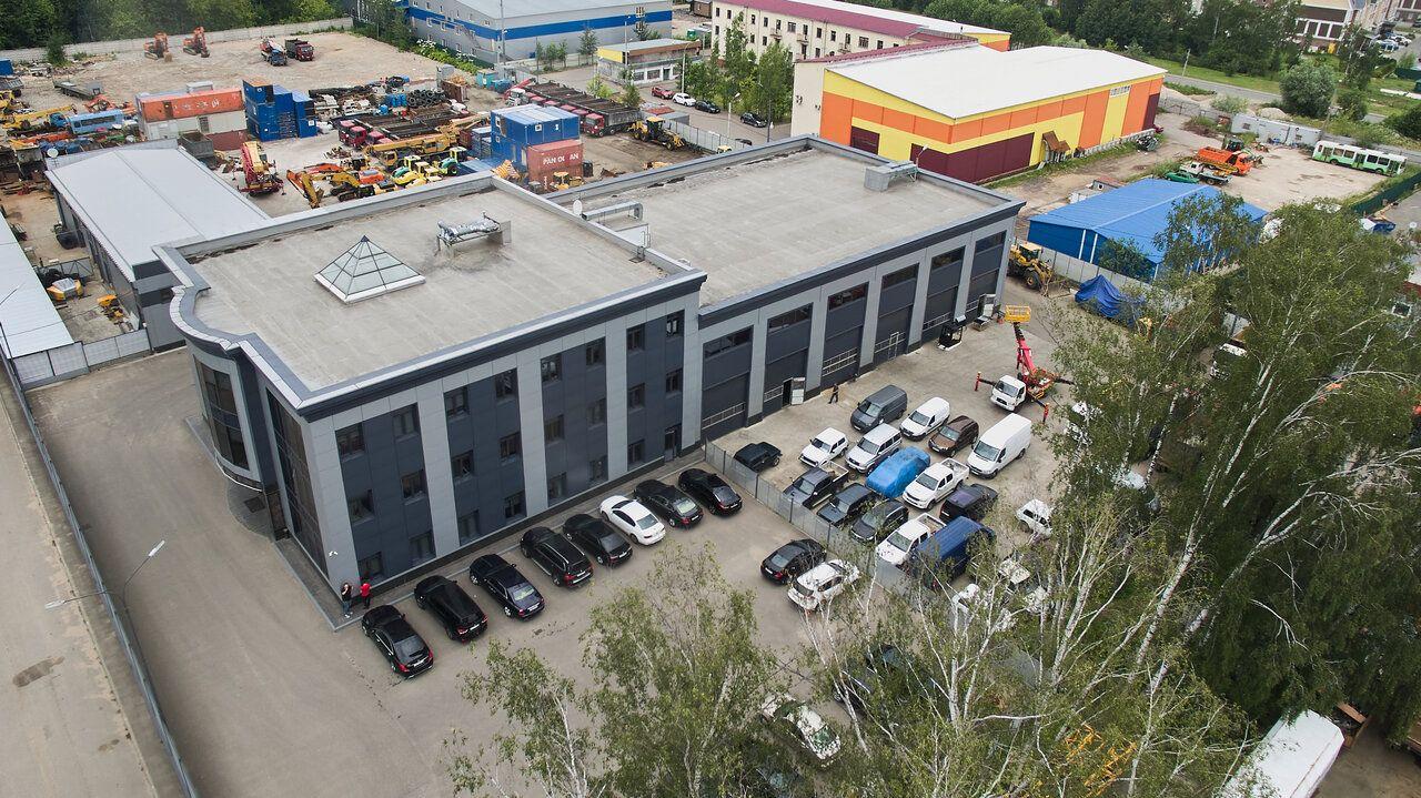 Складском комплексе в Береговом проезде, 7А