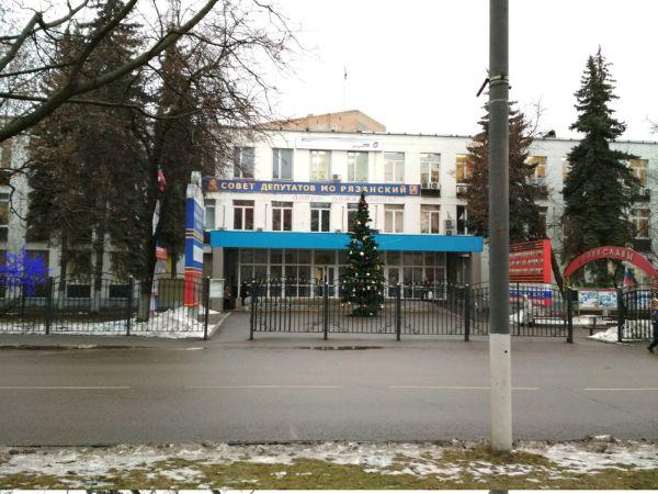 Административное здание на ул. 1-я Новокузьминская, 10