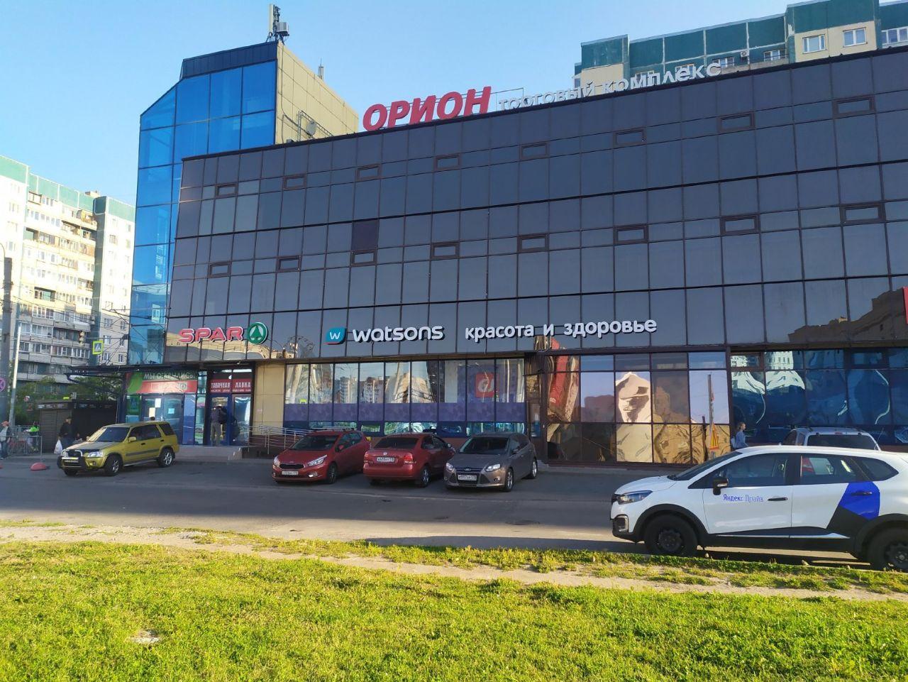 продажа помещений в ТЦ Орион