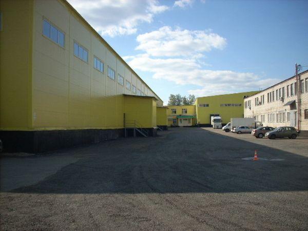 Складской комплекс в поселке Зелёный, к14