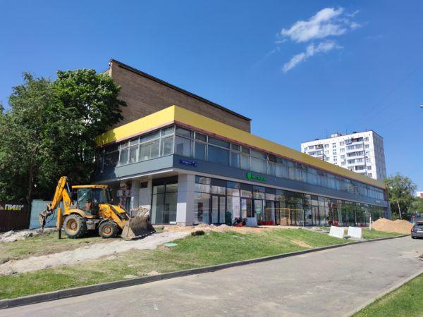 Торгово-офисный комплекс на Коровинском шоссе, 1А
