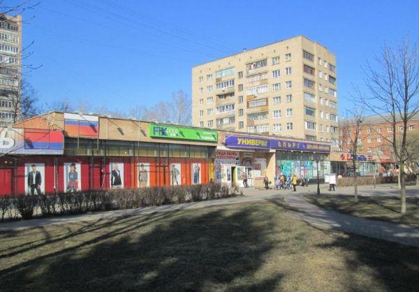 Торговый центр на ул. Крупской, 10А