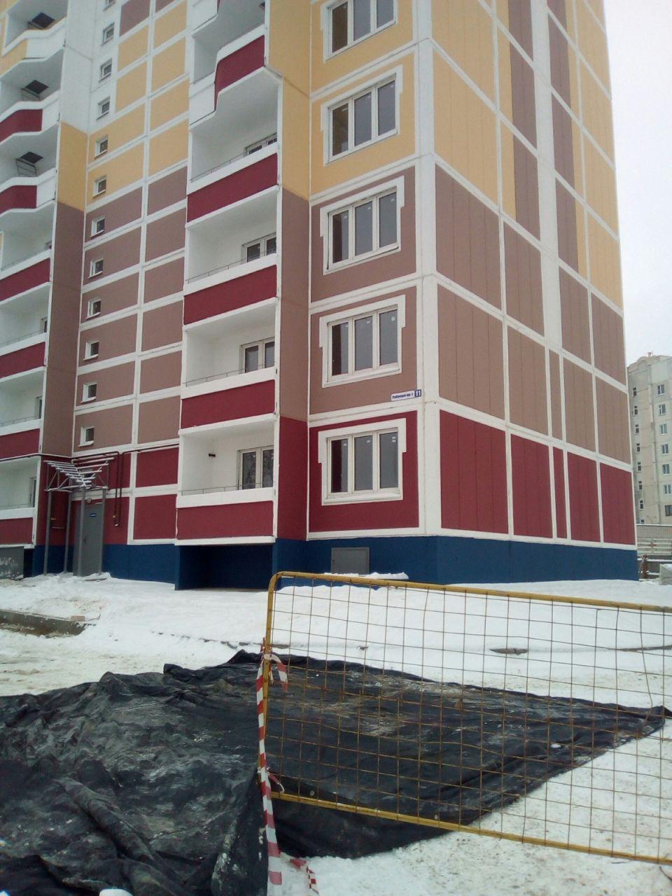 жилой комплекс по Рабочему пр-ту