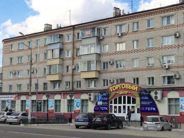 Торговый центр на ул. Ленина, 75
