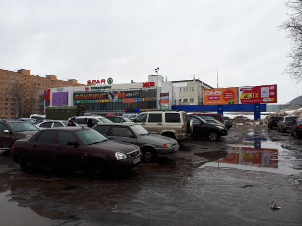 Торговый комплекс ЖД