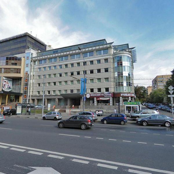 Бизнес-центр на ул. Красная Пресня, 22