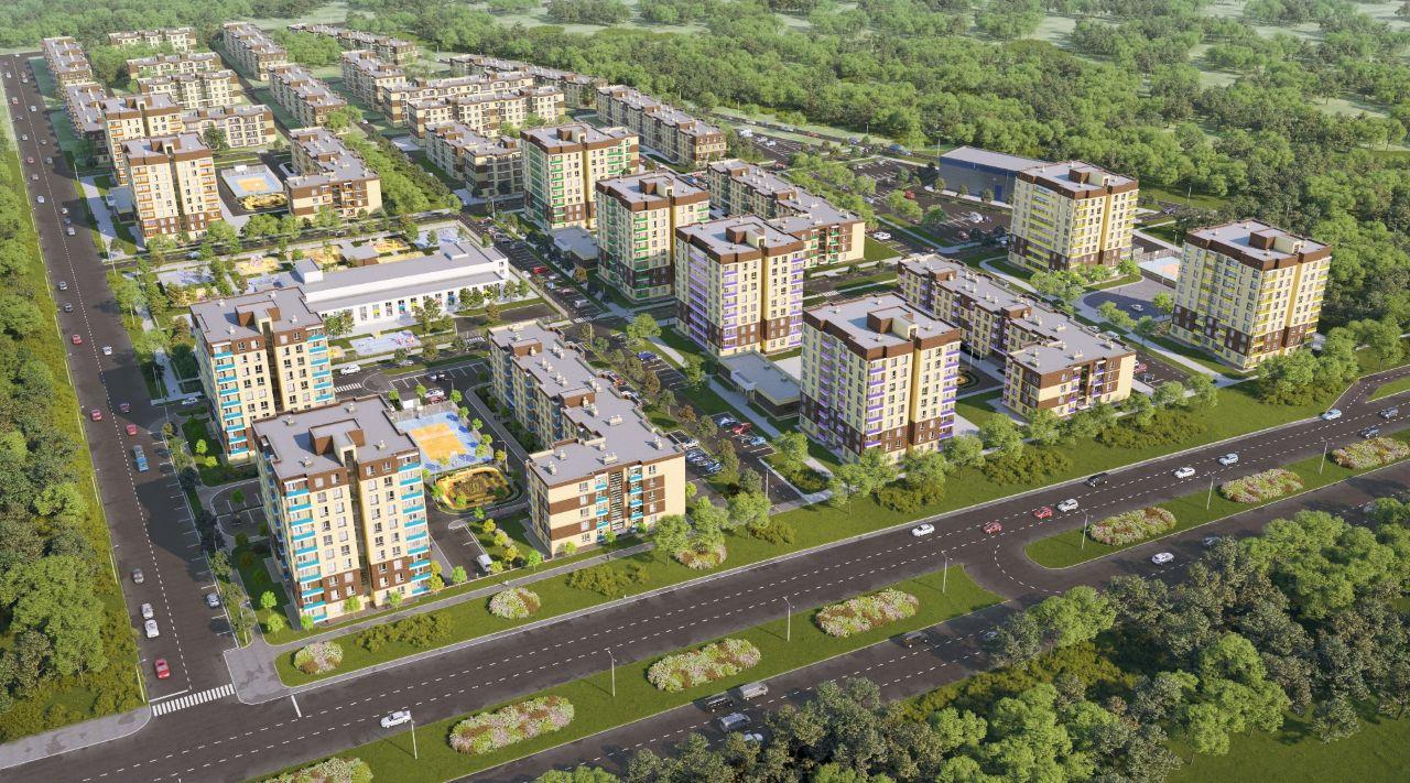 жилой комплекс Спортивный микрорайон Ива