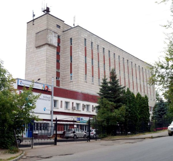 Бизнес-центр на ул. Октябрьская, 61