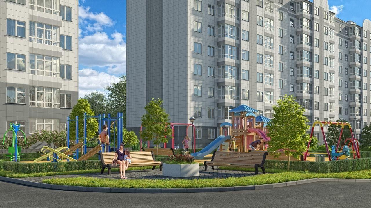 жилой комплекс на бульваре Ленина