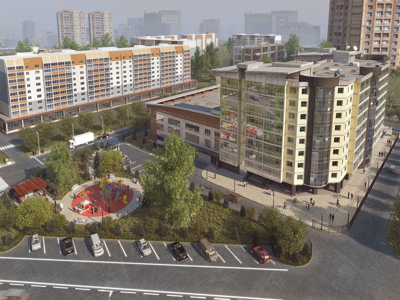 жилой комплекс Атлетик Хаус