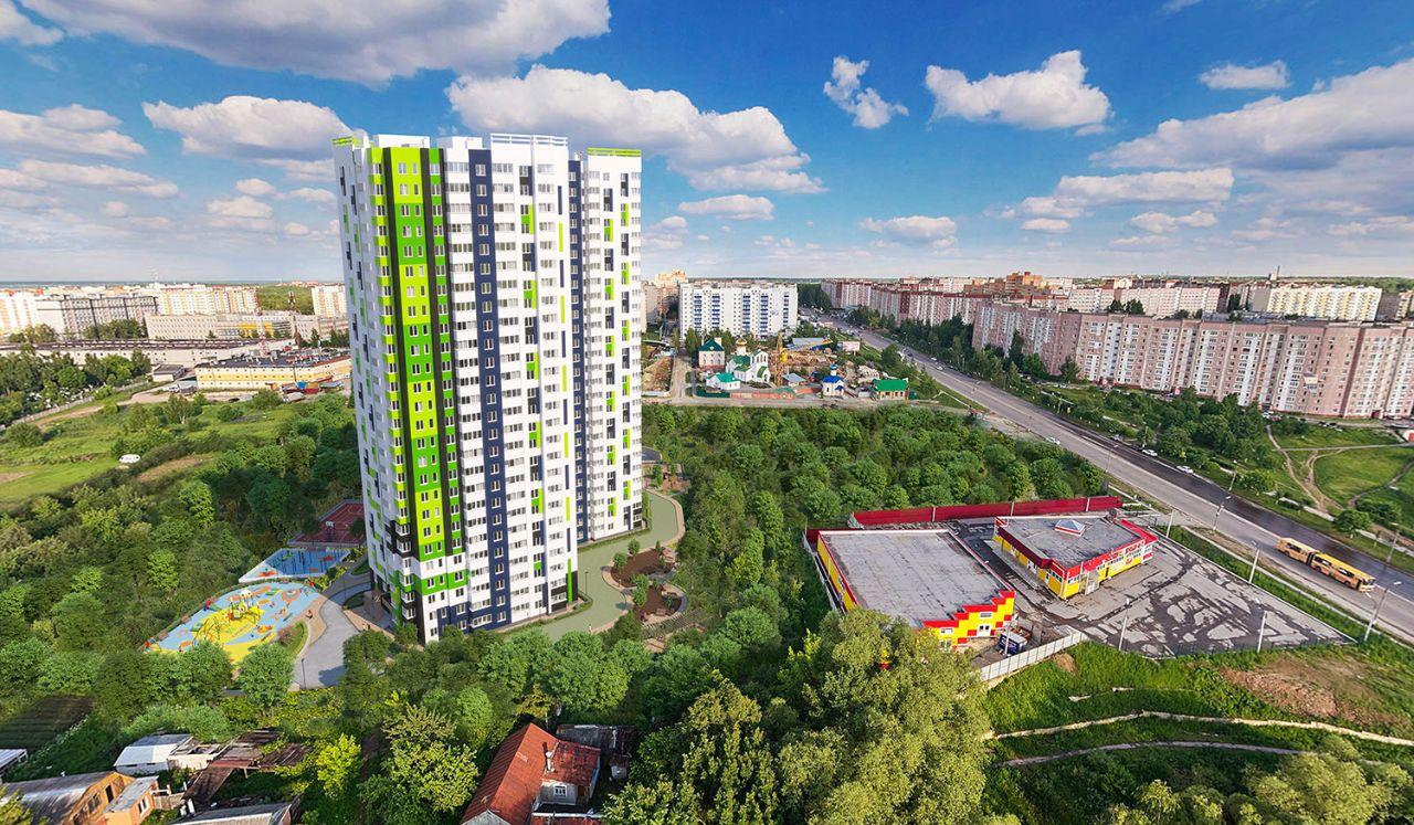 купить квартиру в ЖК СМАРТ дом Березка на Новоселов