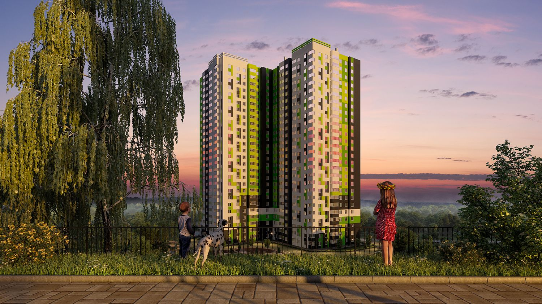 продажа квартир СМАРТ дом Березка на Новоселов