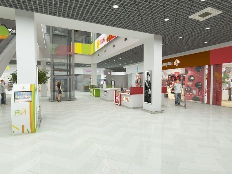 Торговом центре ЯЙ