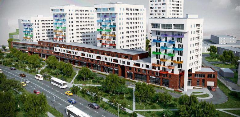 ЖК «Цветной Бульвар» в Красково состоит из 5 жилых домов. Главный дом —  17-ти этажный «Дом Левитана». Украшени.. 4e3378d06d9