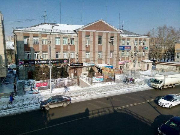 Торгово-офисный комплекс на ул. Партизана Железняка, 6А