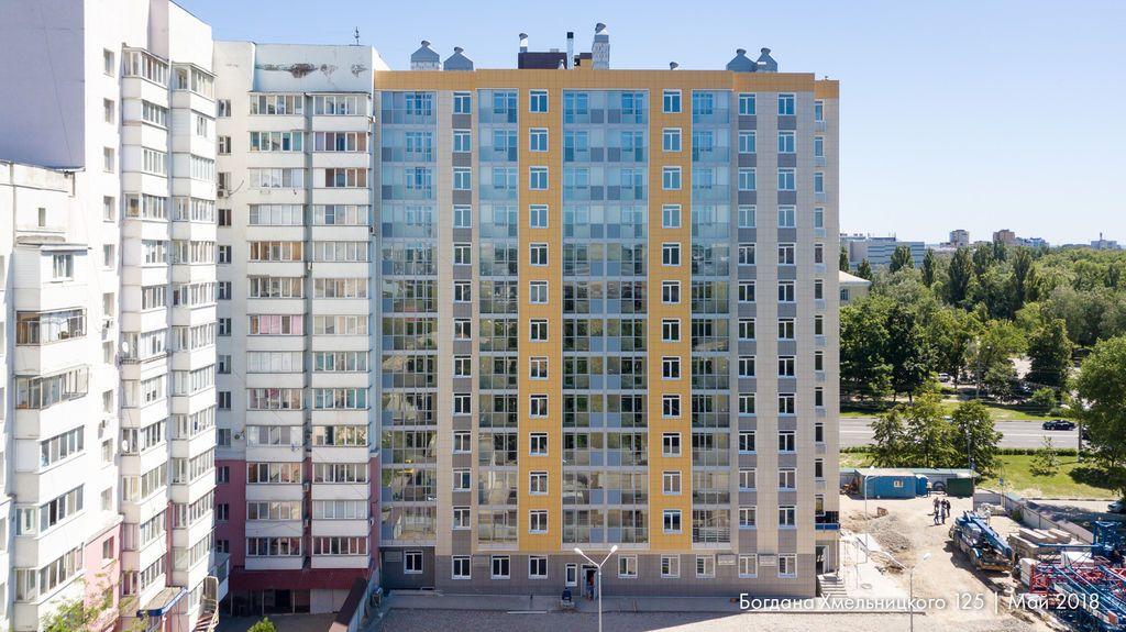 купить квартиру в ЖК Богдана Хмельницкого 125