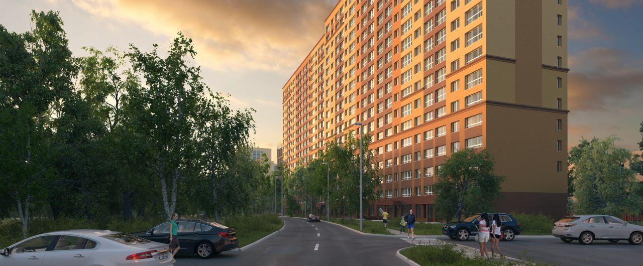 купить квартиру в ЖК Микрорайон Видный