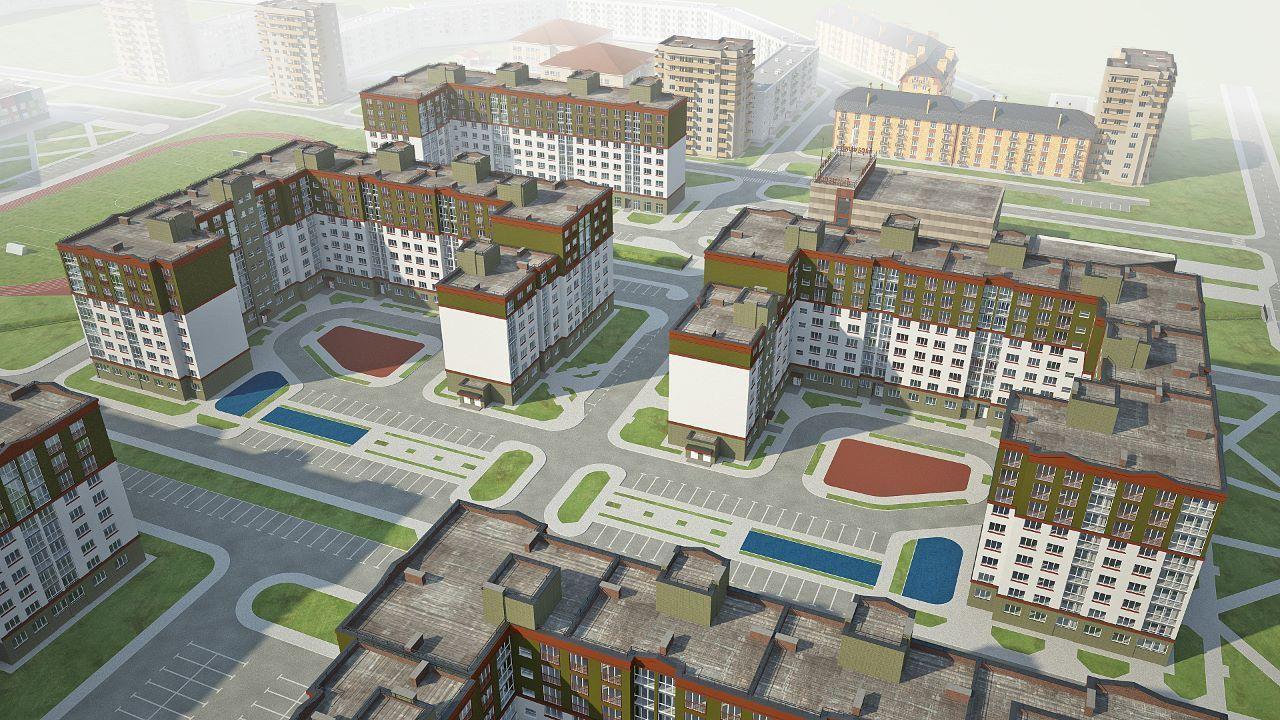 жилой комплекс Атлант