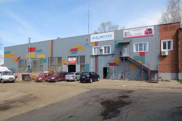 Складской комплекс на ул. Баранова, 33Б