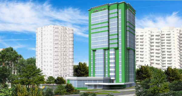 1-я Фотография ЖК «Green Tower (Грин Тауэр)»