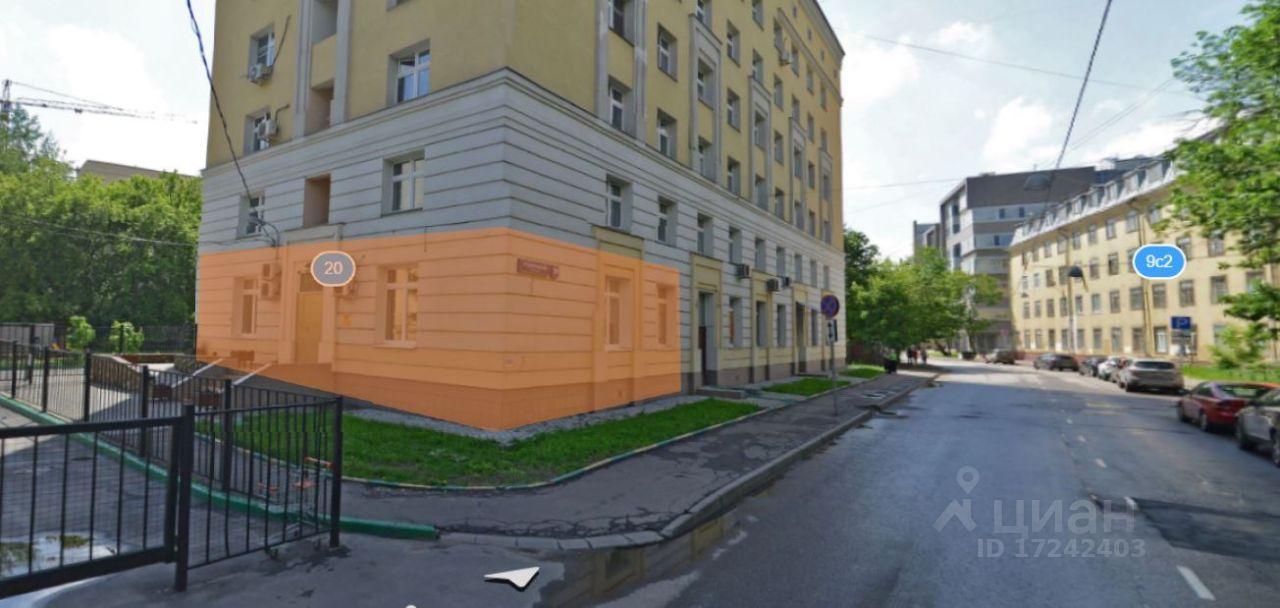 Коммерческая недвижимость Красносельский 1-й переулок Снять помещение под офис Кутузовский проспект