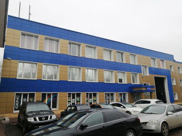 Офисно-складской комплекс на ул. Амурская, 7с3
